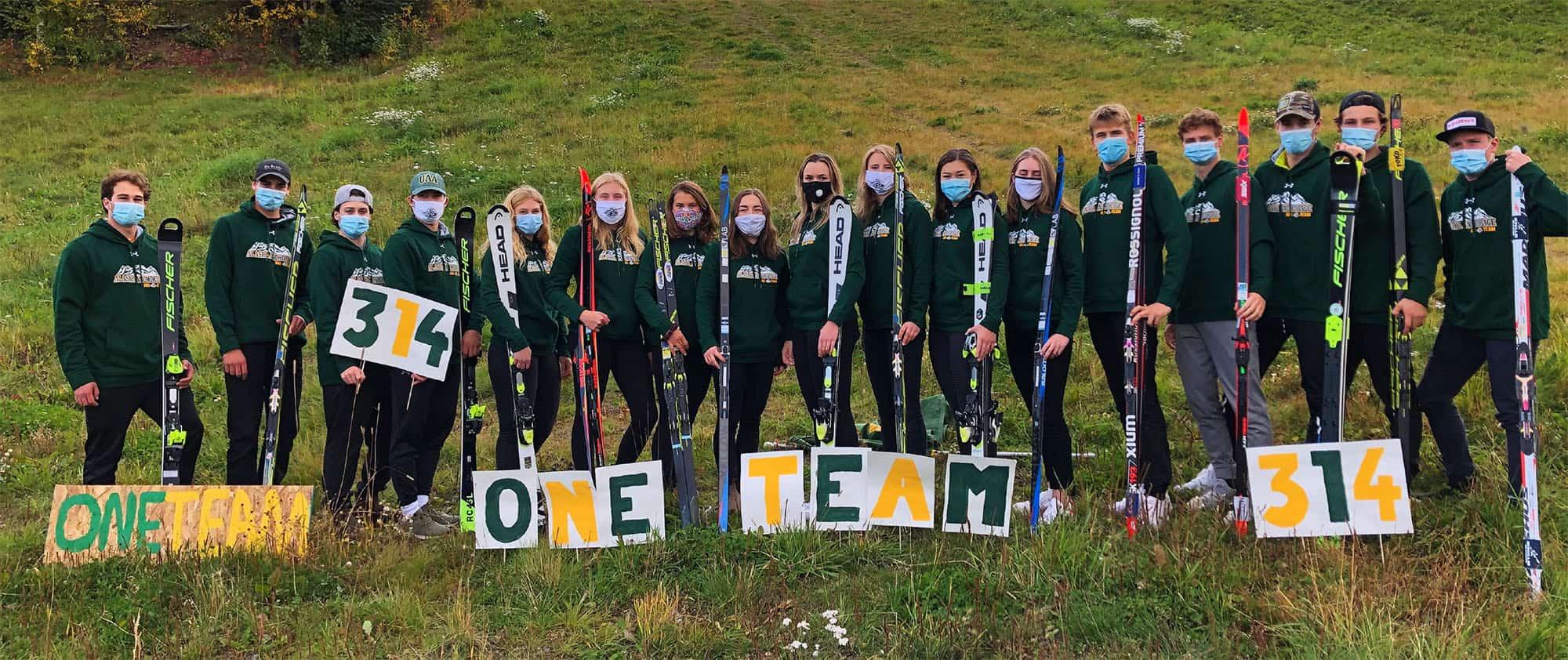 UAA Ski Team One Team 314 Campaign