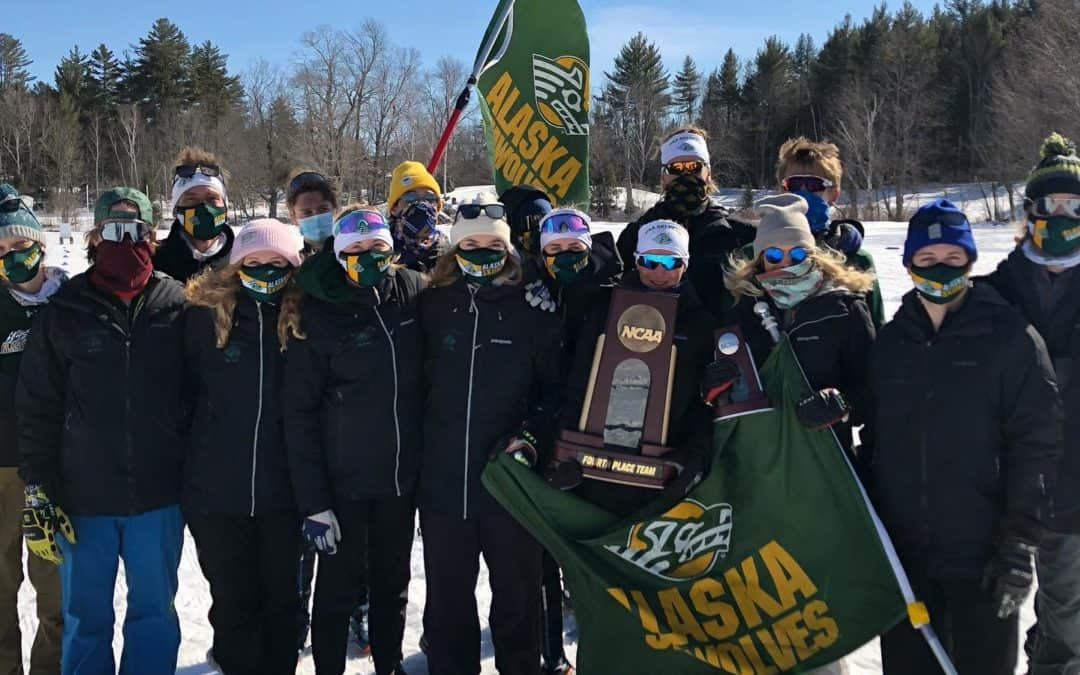 Fourth Place at 2021 NCAA Championships